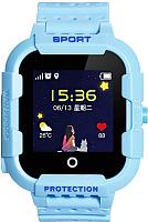 Умные часы детские Wonlex KT03 (синий) -