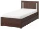 Односпальная кровать Ikea Сонгесанд 392.409.71 -