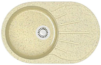 Мойка кухонная Elmar M-04 (бежевый фреш Q3) -