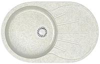 Мойка кухонная Elmar M-04 (белый гранит Q15) -