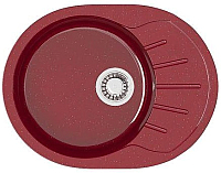 Мойка кухонная Elmar M-03 (красный блеск Q17) -