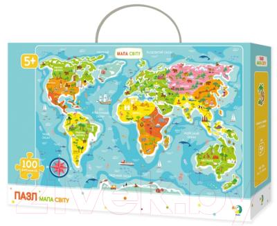 Пазл Dodo Карта мира / 300110
