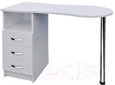 Мир Мебели MS-05 Стол для маникюра купить в Минске, Гомеле, Витебске, Могилеве, Бресте, Гродно