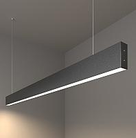 Потолочный светильник Elektrostandard 101-200-30-128 25W 4200K (черная шагрень) -