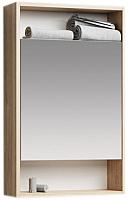 Шкаф с зеркалом для ванной Aqwella Сити 50 / SIT0405DB -