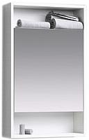 Шкаф с зеркалом для ванной Aqwella Сити 50 / SIT0405DK -