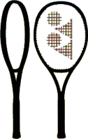 Теннисная ракетка Yonex New Vcore Game G1 Galaxy / 18VCGGE (черный) -