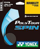 Струна для теннисной ракетки Yonex Polytour SPIN 125 SET / NT125PSS (12м, cobalt blue) -