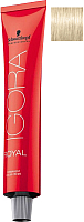 Крем-краска для волос Schwarzkopf Professional Igora Royal Permanent Color Creme 10-1 (60мл) -
