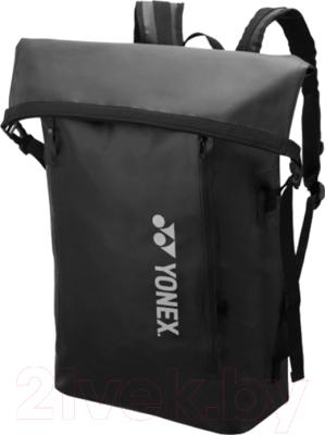 Рюкзак спортивный Yonex Waterproof Back Pack 2912 Black / BAG2912EX