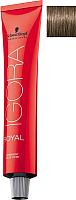Крем-краска для волос Schwarzkopf Professional Igora Royal Permanent Color Creme 6-0 (60мл) -