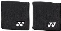 Напульсник Yonex Wrist Band AC 489 / AC489EX (2шт, черный) -