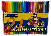 Фломастеры Centropen Пингвины / 7790 2486 (24шт) -