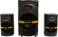 Мультимедиа акустика Dialog AP-210B (черный) -