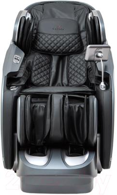 Массажное кресло Casada Skyliner II Braintronics CMS-549-ВТ (черный/серый)