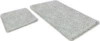 Набор ковриков Shahintex Lama 60x90/60x50 (белый) -