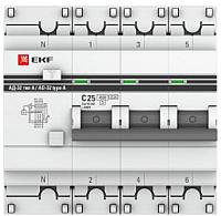 Дифференциальный автомат EKF PROxima АД-32 3P+N 40А/30мА / DA32-40-30-4P-pro -