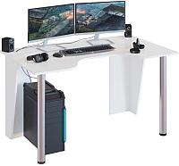 Компьютерный стол Сокол-Мебель КСТ-18 (белый) -