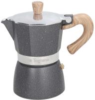 Гейзерная кофеварка Tognana Grancucina (декор-мрамор/дерево) -