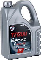 Моторное масло Fuchs Titan Supersyn F Eco-FE 0W30 / 601425516 (5л) -