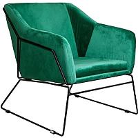 Кресло мягкое Седия Remi (бархат зеленый) -