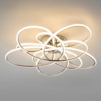 Потолочный светильник Евросвет 90143/5 (хром) -
