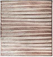 Ковер Angora Fialka Daire P028C (2x2, brown/light brown) -