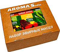 Набор эфирных масел Saules Sapnis Культовый (3x10мл) -