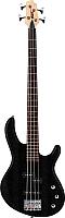 Бас-гитара Cort Action PJ Open Pore Black -
