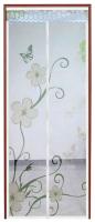 Москитная дверь Feniks FN220 (цветы) -