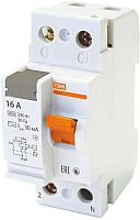 Дифференциальный автомат TDM ВД63-2P-16А-30мА / SQ0220-0001 -
