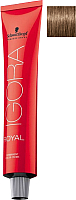 Крем-краска для волос Schwarzkopf Professional Igora Royal Permanent Color Creme 7-4 (60мл) -