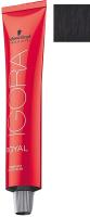 Крем-краска для волос Schwarzkopf Professional Igora Royal Permanent Color Creme E-1 (60мл) -