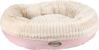 Лежанка для животных Scruffs Ellen / 820907 (розовый/бежевый) -