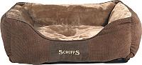 Лежанка для животных Scruffs Chester / 931933 (шоколадный) -