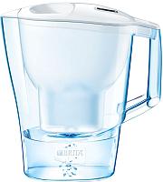 Фильтр питьевой воды Brita Алуна XL Cal (белый, + 1 картридж Maxtra) -
