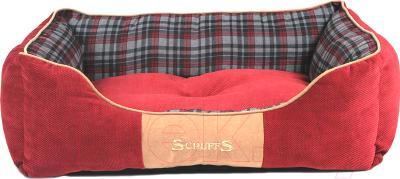 Лежанка для животных Scruffs Highland / 932084 (красный)