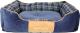 Лежанка для животных Scruffs Highland / 932091 (синий) -