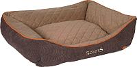 Лежанка для животных Scruffs Thermal Box Bed / 677236 (коричневый) -