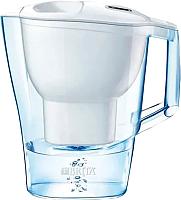 Фильтр питьевой воды Brita Алуна MX Cal (белый) -