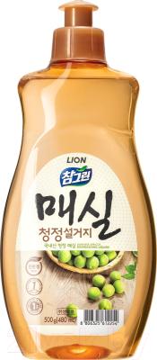 Средство для мытья посуды Lion Chamgreen японский абрикос