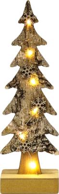 Световая фигурка Neon-Night Ель со снежинками 504-013