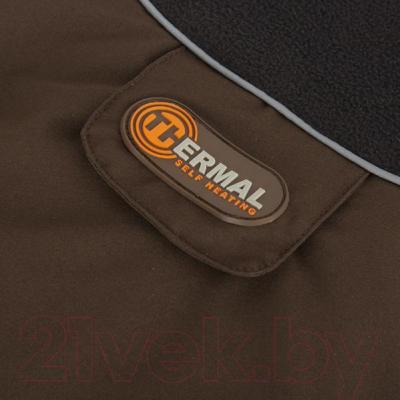 Попона для животных Scruffs Thermal / 938420 (55см, шоколадный)