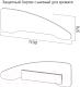 Бортик для кровати SV-мебель Сосна карелия -