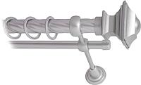 Карниз для штор Lm Decor Верди 030 2р витой 25/16мм (сатин, 2м) -