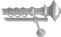 Карниз для штор Lm Decor Верди 030 2р гладкий 25/16мм (сатин, 2м) -
