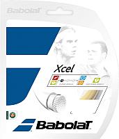 Струна для теннисной ракетки Babolat Xcel / 241110-128-130 (12м, натуральный) -