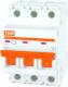 Выключатель автоматический TDM ВА 47-29 3Р 1А (C) 4.5кА / SQ0206-0100 -