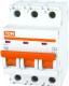 Выключатель автоматический TDM ВА 47-29 3Р 16А (D) 4.5кА / SQ0206-0173 -