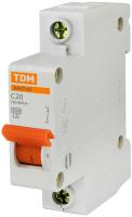 Выключатель автоматический TDM ВА 47-63 1Р 16А (C) 4.5кА / SQ0218-0003 -